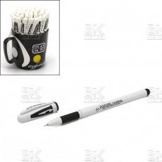 Ручка гел 8001 A  YUGUANG  черный стер 0.5 мм