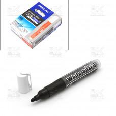 Маркер для доски HB-370 черный со смен капсул Whiteboard