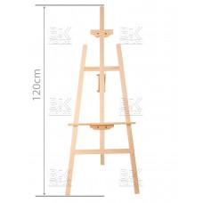 Мольберт деревян (120 см)