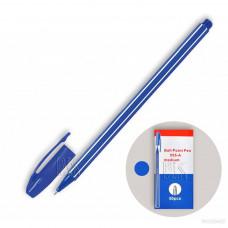 Ручка шарик 555-A BPсиний стер 0.7 мм