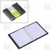 Визитница настольная на 96 визиток черная (BINSHENG)
