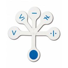 Касса веер Математические знаки ВК06 (Стамм)