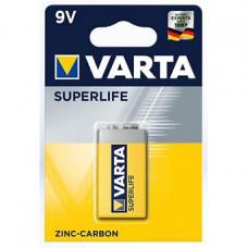Батарейка Varta Superlife E-Block 9V-6F22P (1шт)