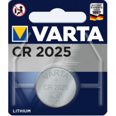 Батарейка Varta Lithium CR2025 3V-170mAh (1шт)