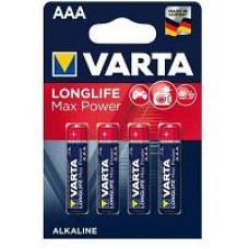 Батарейка Varta Max tech Mignon 1.5V-LR6/AA (4шт)