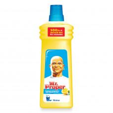 Моющая жидкость для полов и стен Mr.Proper Лимон 750мл