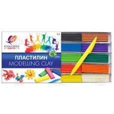 Пластилин 10цв Классика (Луч)