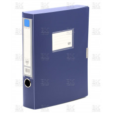Короб архив на липучке пласт 0,5 голубой АВ 833