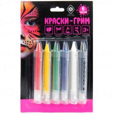 Карандаши для грима Фабрика фантазий 6 цветов