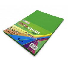 Цв бумага офисная А4 80 гр/100л зеленая AL MBF