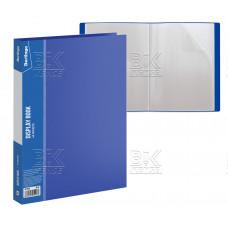 Папка файловая 40 файл Berlingo 21мм, 600мкм, синяя MT2438