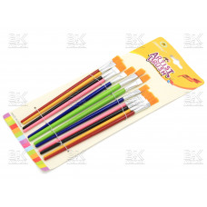Кисточки в наборе 12шт Paintng 251-12  (цветные)