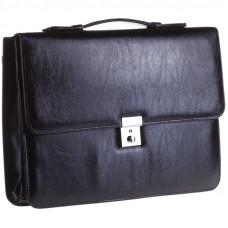 Портфель кож,2 отд + 3 кармана, с ключиком К3-572