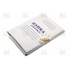 Папка д/ бумаг на веревке (Вектор)