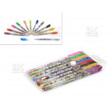 Ручки/набор гел 8цв  Mickey Mouse 1 мм  европодвес