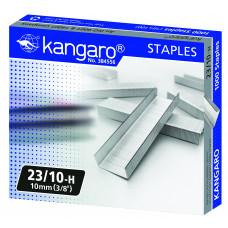 Скобы для степлера 23/10 Kangaro оцинкованные