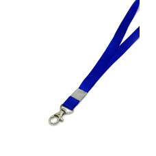 Шнурки широкие для бейджа на карабине