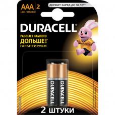 Батарейки Durasell Basic AAA 1.5V LR03 2шт