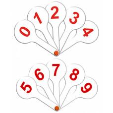 Касса веер Цифры от 0 до 9 ВК10 (Стамм)
