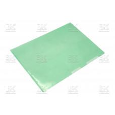 Папка-уголок плотн, (син/прозр.)(Китай)