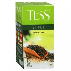 Чай Тесс 25 пакет зел