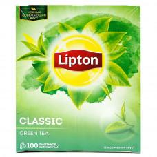 Чай Lipton Green 100пак 170гр
