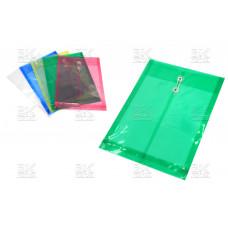 Папка- конверт пластик, А4 на веревке L118