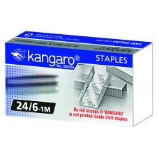 Скобы для степлера 24/6 1м Kangaro оцинкованные