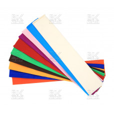 Бумага крепированная/набор10 цв 50х200 см AL MBF