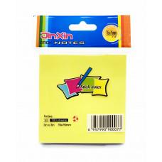 Бумага для заметок 76х76мм 100л В3 JinXin у/12 к/600