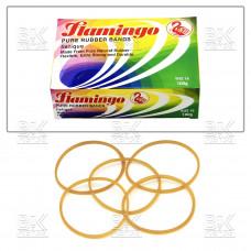 Резинка банковская  (для валют) Flamingo 100гр (ориг,)