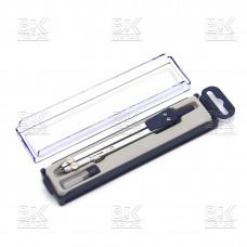 Циркуль метал запасной грифель  пластиковая упаковка 702В/402A (Китай)