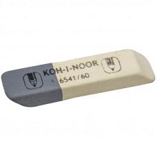"""Ластик Koh-I-Noor """"Sanpearl"""" 60, скошенный, комбинированный, натураль каучук, 57*14*8мм 6541060007"""