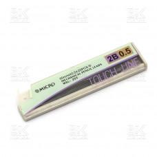 Грифели мех карандаши 0,5мм 2B MicroTouch-Line