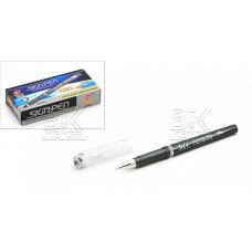 Ручка гел HENG TAI  (SIGNPEN) HT-808/809 черый стер 0.5 мм