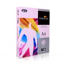 Цв бумага офисная А4 80 гр/500л №170 PINK розовыйPaperline
