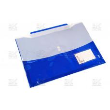 Папка- конверт на кнопке А4+ двухсторонняя Megent MC012