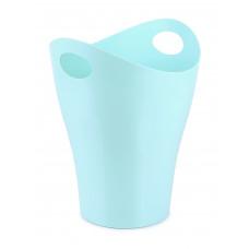 Корзина для бумаг 8л голубая СТАММ КР160