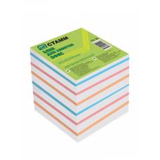 Блок для записи 90х90х90мм БЗ 56 цветной(Стамм)