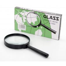 Лупа 75мм GLASS простой