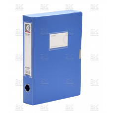 Короб архив на липучке пласт 0,5 голубой Dl-5072