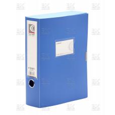 Короб архив на липучке пласт 0,7 голубой Dl-5073