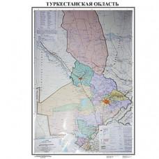 Карта ЮКО 50 х70см