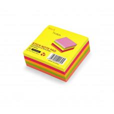 Бумага для заметок 5цв 76х76мм 300л T25 JinXin у/12 к192