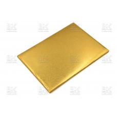 Папка адресная А4 блеск золото