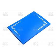 Папка адресная А4 ПВХ,узор синий
