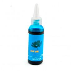 Чернила для эпсон Dye ink light cyan голубые 100 мл