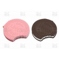 Блокнот   печенье с запахом мал  кож