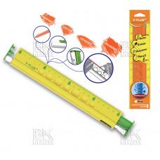 Линейка плас 20см цвет Y-plus RX170100