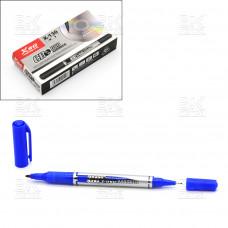 Маркер для CD двусторонний CD XSG X-130 синий